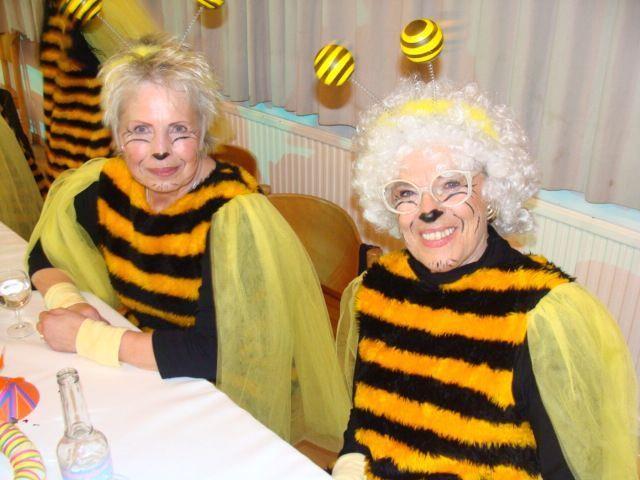 Nicht nur die flotten Bienen genossen den tollen Abend