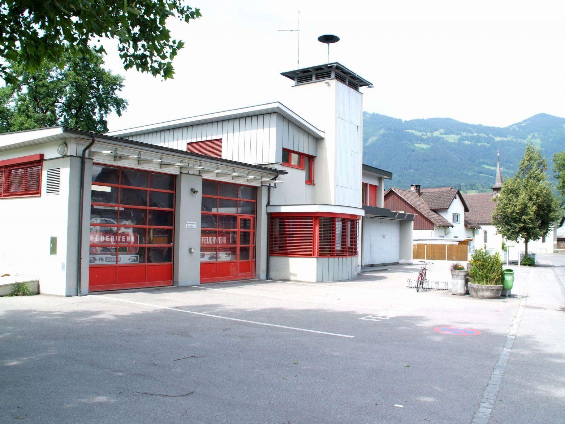 Die Planungen für die Erweiterung des  Schlinser Feuerwehrhauses wurden vergeben.