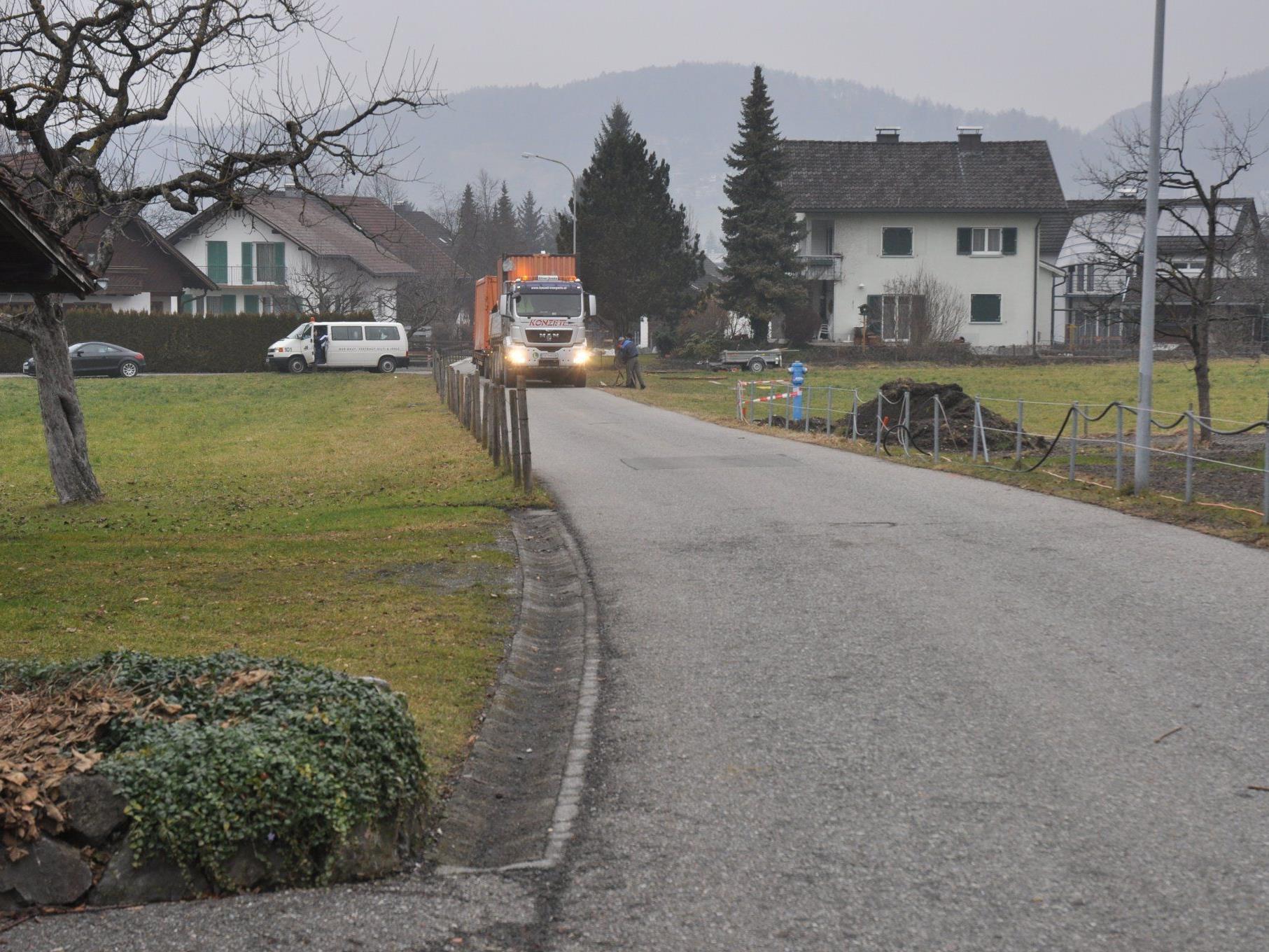 Der Römerweg wird für rund drei Wochen gesperrt.