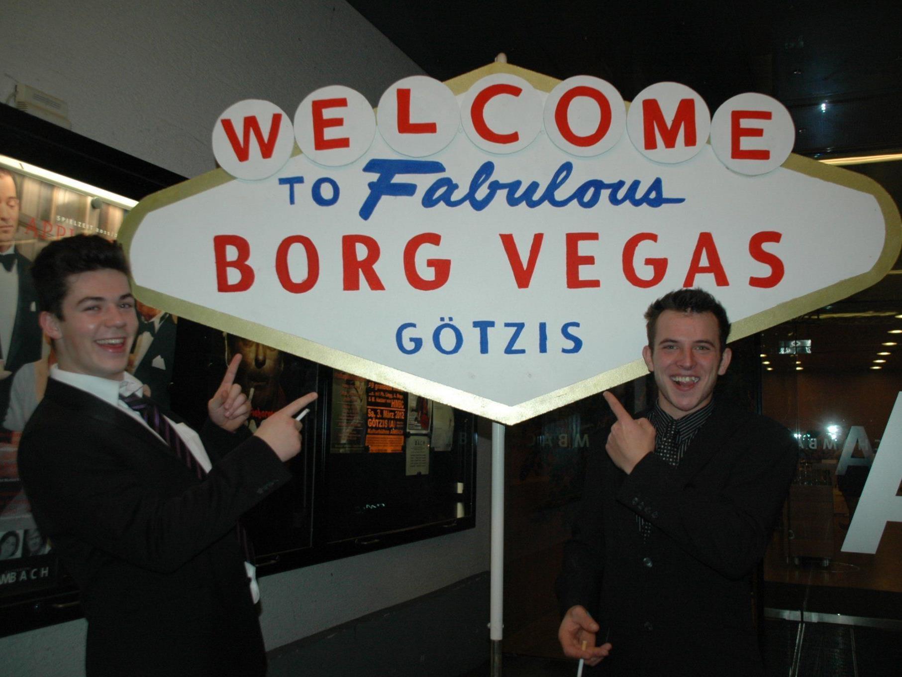 Jan Verdaasdonk & Sven Kick feierten mit beim BORG Vegas Ball in Götzis