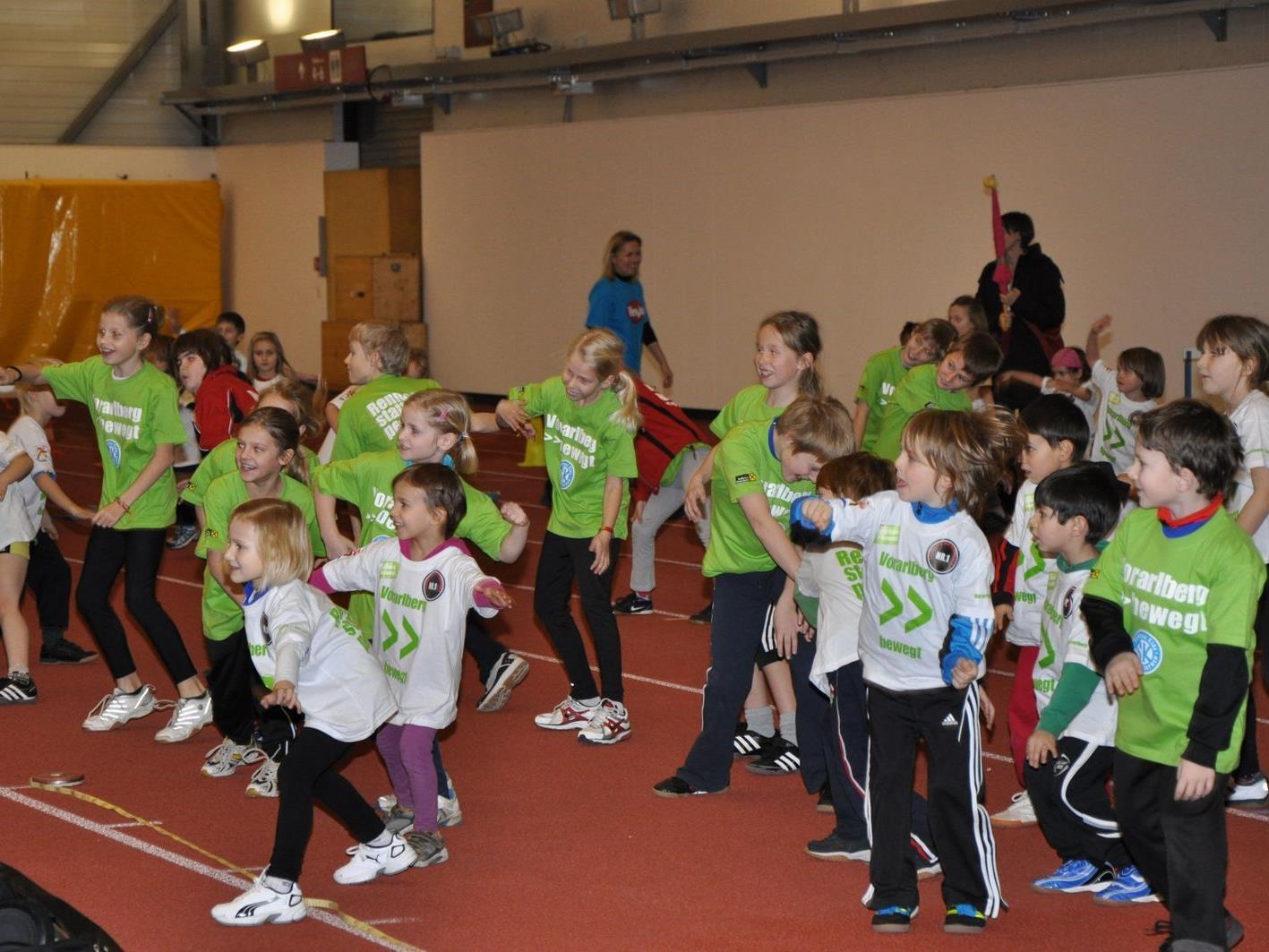 Die TS Dornbirn lädt am 28. Jänner 2012 zum 2. Kids Athletics Tag.