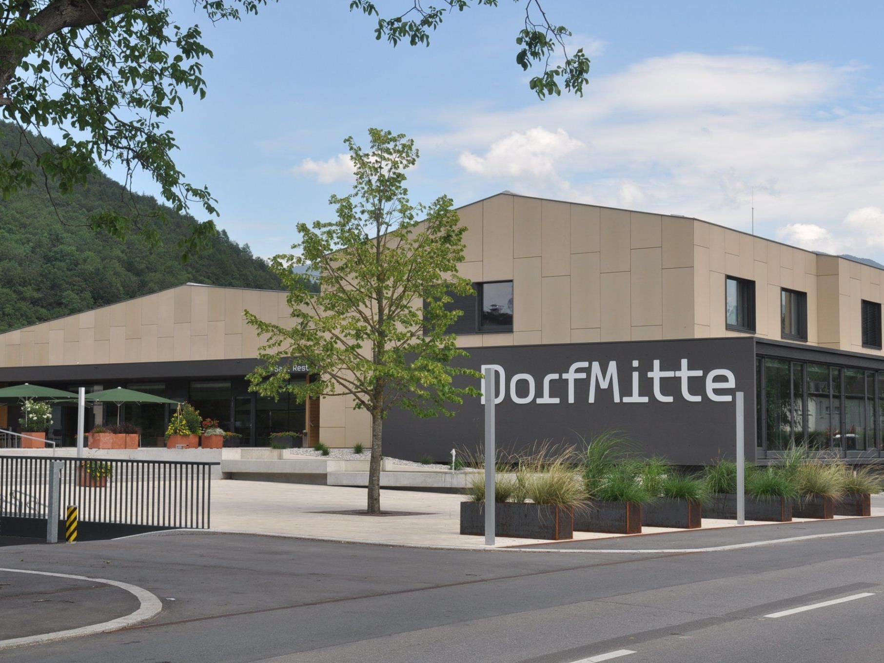 Die Realisierung von Großprojekten, wie das Gemeindezentrum DorfMitte, sind abgeschlossen.