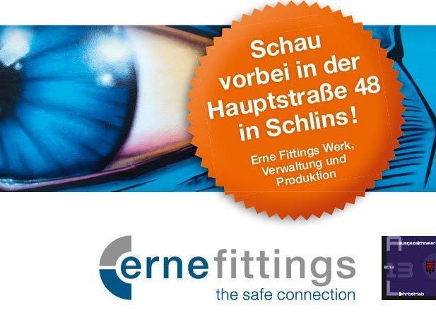 Erne Fittings veranstaltet einen Lehrlingsinfotag.