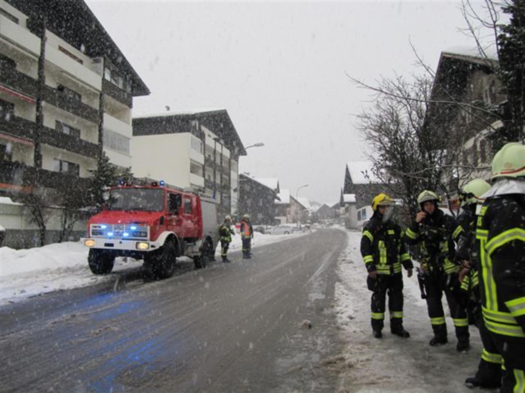 Dank dem schnellen Eintreffen der Feuerwehr konnte Schlimmes verhindert werden.