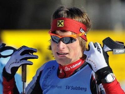 Aurelius Herburger beim WC in Italien am Start.