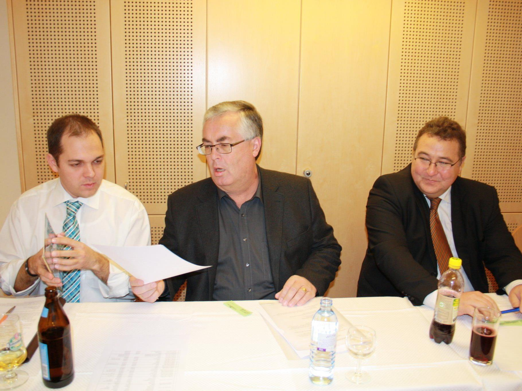 Ganz im Zeichen des Obmannwechsels stand die Jahreshauptversammlung des MV Concordia.