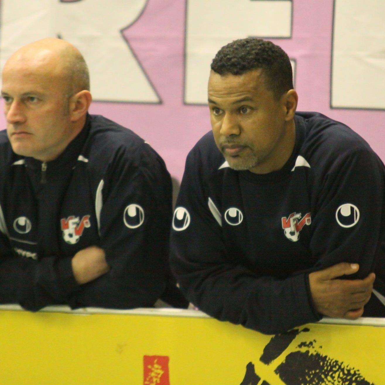 AKA Trainergespann Lassaad Chabbi und Walter Bitriol waren hochzufrieden.