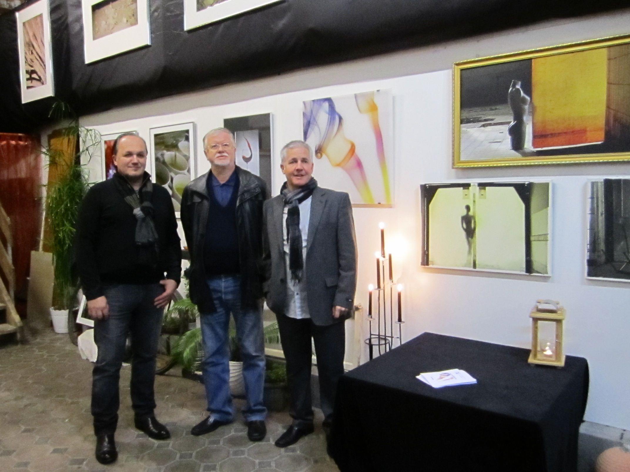 Charly Raser, Herbert Gmeiner und Reinhard Beck