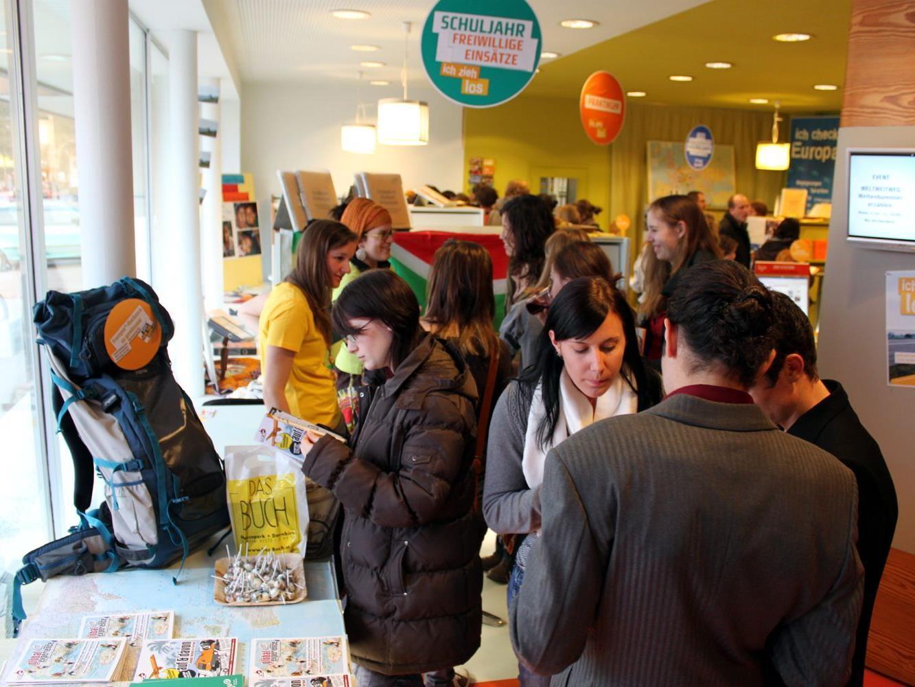 Die Veranstaltungen des Jugendinformationszentrums Vorarlberg sind bei Jugendlichen sehr beliebt.