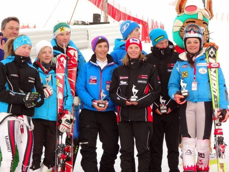 Liensberger und Lingg Zweite bei Junior Race in Kitzbühel.