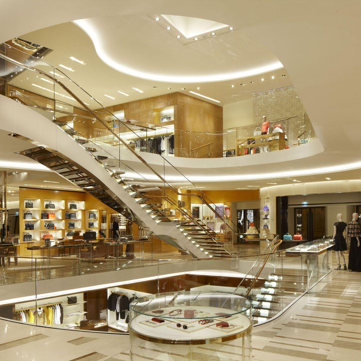 Der neue Store von Louis Vuitton - Luxus pur.