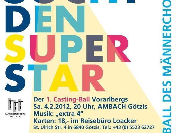 Flyer Götzis sucht den Superstar