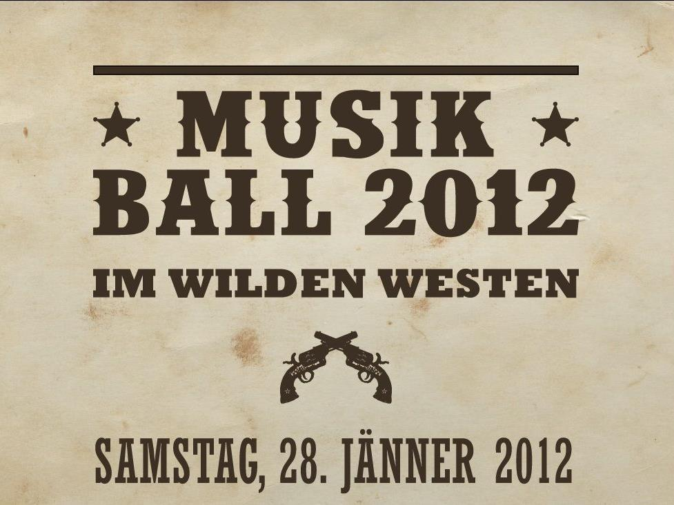 Musikball Übersaxen 2012