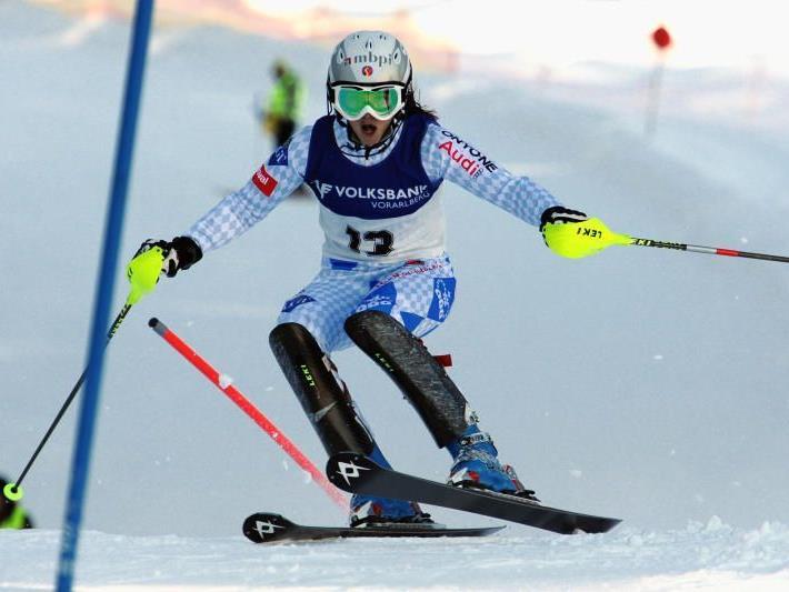 Marina Nigg gilt in Lech als große Favoritin