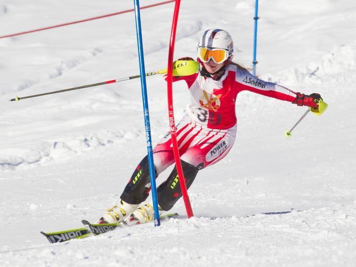 Ariane Rädler verpasste im zweiten Lauf die Bestzeit nur um 0,11 Sekunden