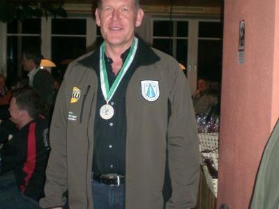 Walter Egender von der USG Andelsbuch gewann die Senioren LG 40-Klasse