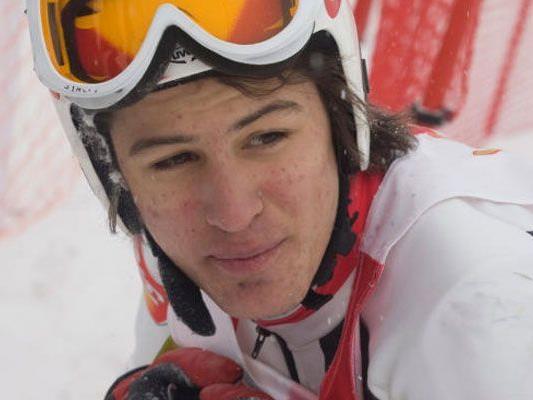 Johannes Strolz patzte im Slalom und verpasste somit die Goldmedaille