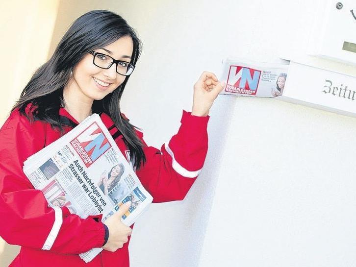 Wir suchen Zeitungsausträger