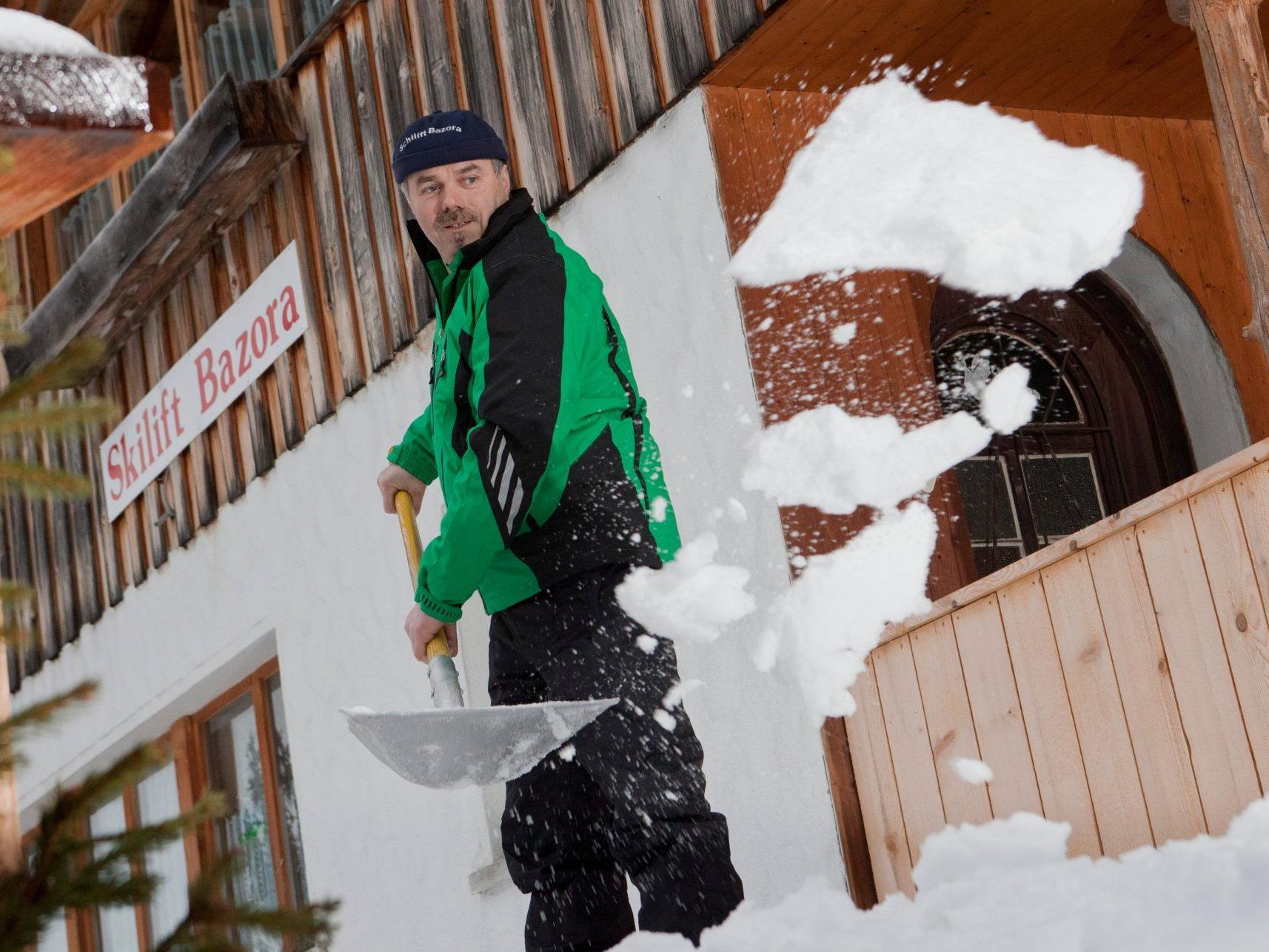 Legt für den Bazora-Skilift großes Engagement an den Tag: Anton Gabriel aus Frastanz.