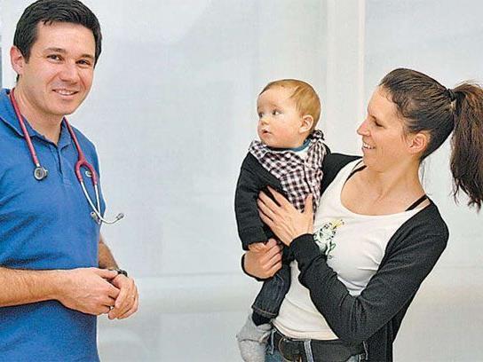 Dr. Gerald Endres sorgte dafür, dass die Kinderarztstelle in Lustenau nicht allzu lange verwaist war.