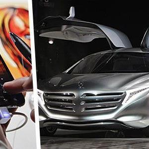 Die neue Version von Mercedes' Software mbrace2 - verfügbar für iPhone und Android-Handys - warnt bei der Überschreitung der Höchstgeschwindigkeit.und navigiert Elektroautos zur nächsten Ladestation.