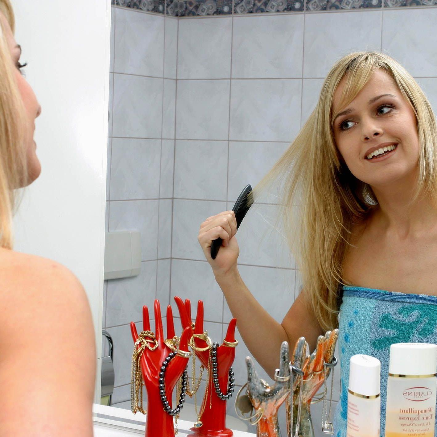 Trockenshampoo kann die Frisur retten