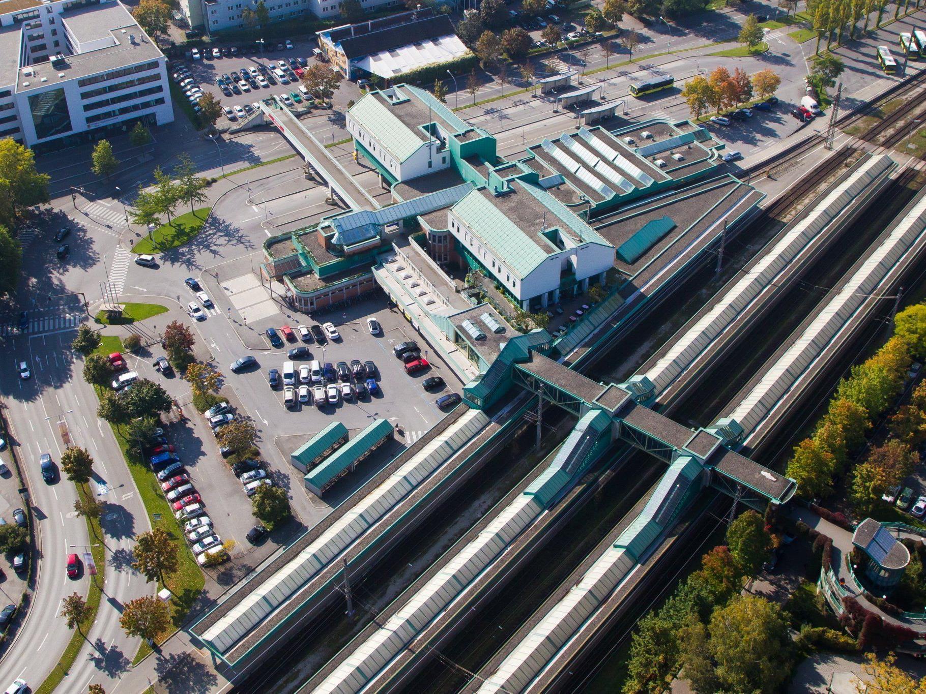 Große Umbauarbeiten am Bahnhofsareal geplant.
