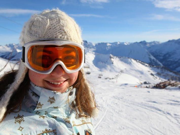 Die Schneelage in den Vorarlberger Skigebieten ist sehr gut.