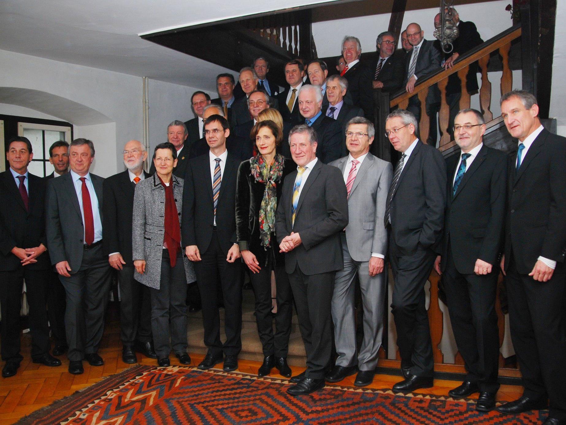 LH Markus Wallner lud das Konsularische Korps zum traditionellen Neujahrsempfang.