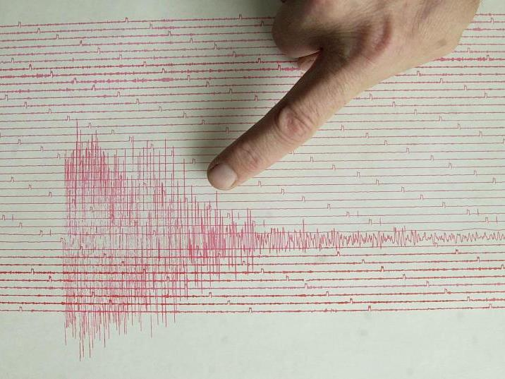 Erdbeben erreichte 5,4 auf der Richterskala