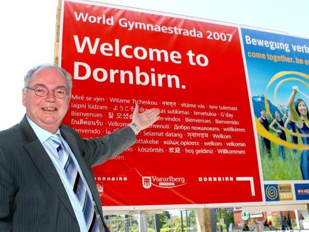 Dornbirns Stadtchef Rümmele kann sich Nachfolger aussuchen.
