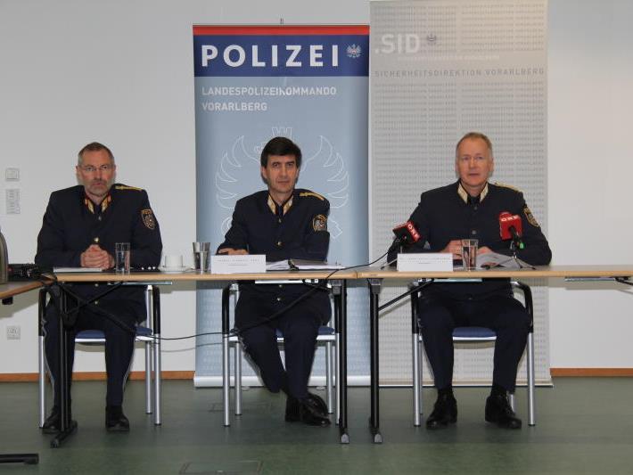 Die Kriminalstatistik für Vorarlberg wurde am Freitag präsentiert.