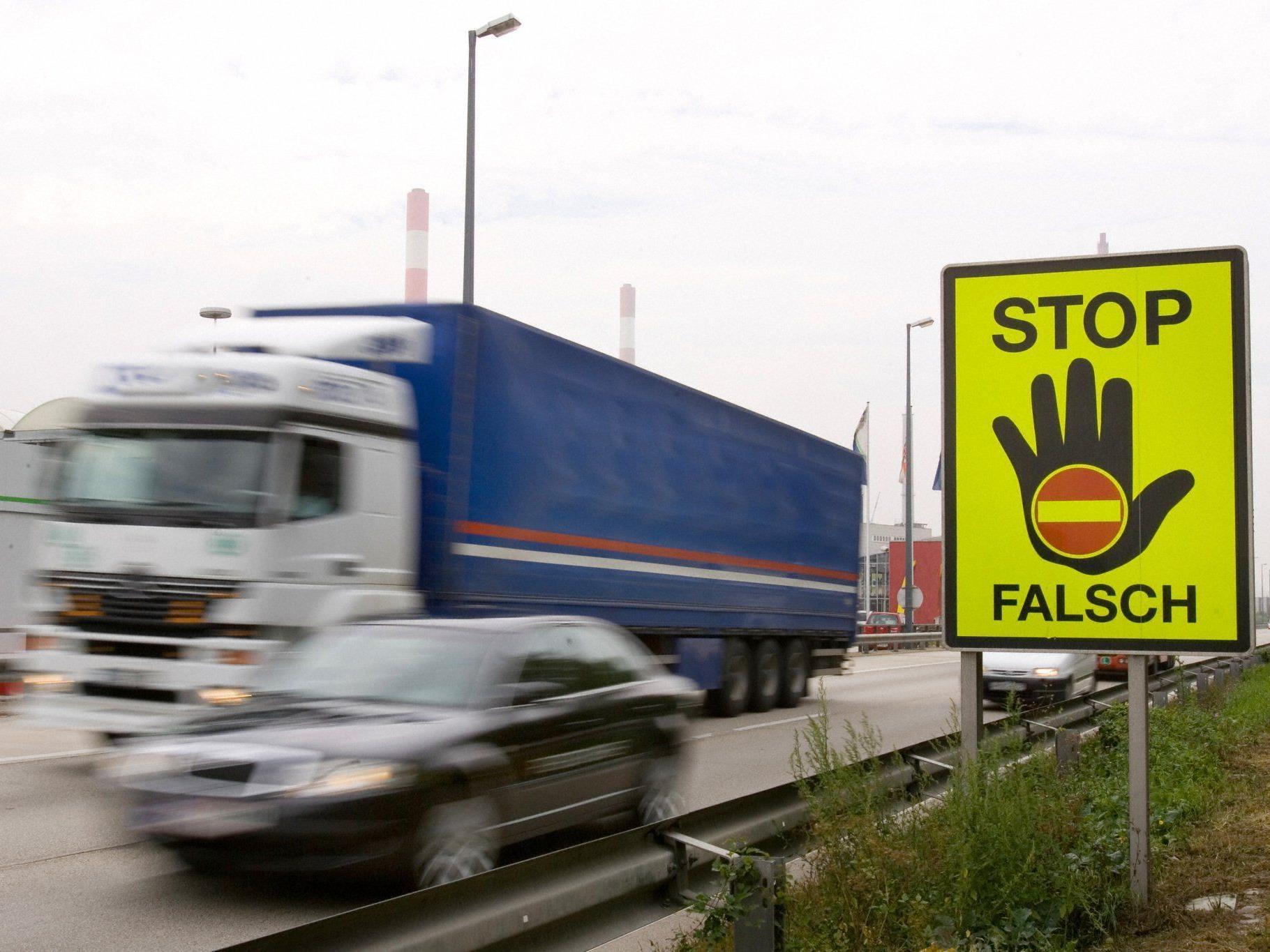 Geisterfahrer-Meldungen österreichweit auf Rekordtief