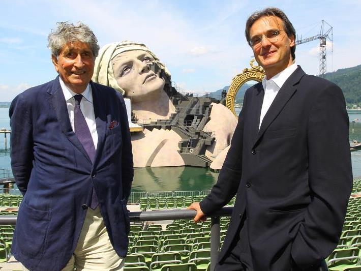 Roland Geyer (rechts) wird doch nicht Intendant der Bregenzer Festspiele
