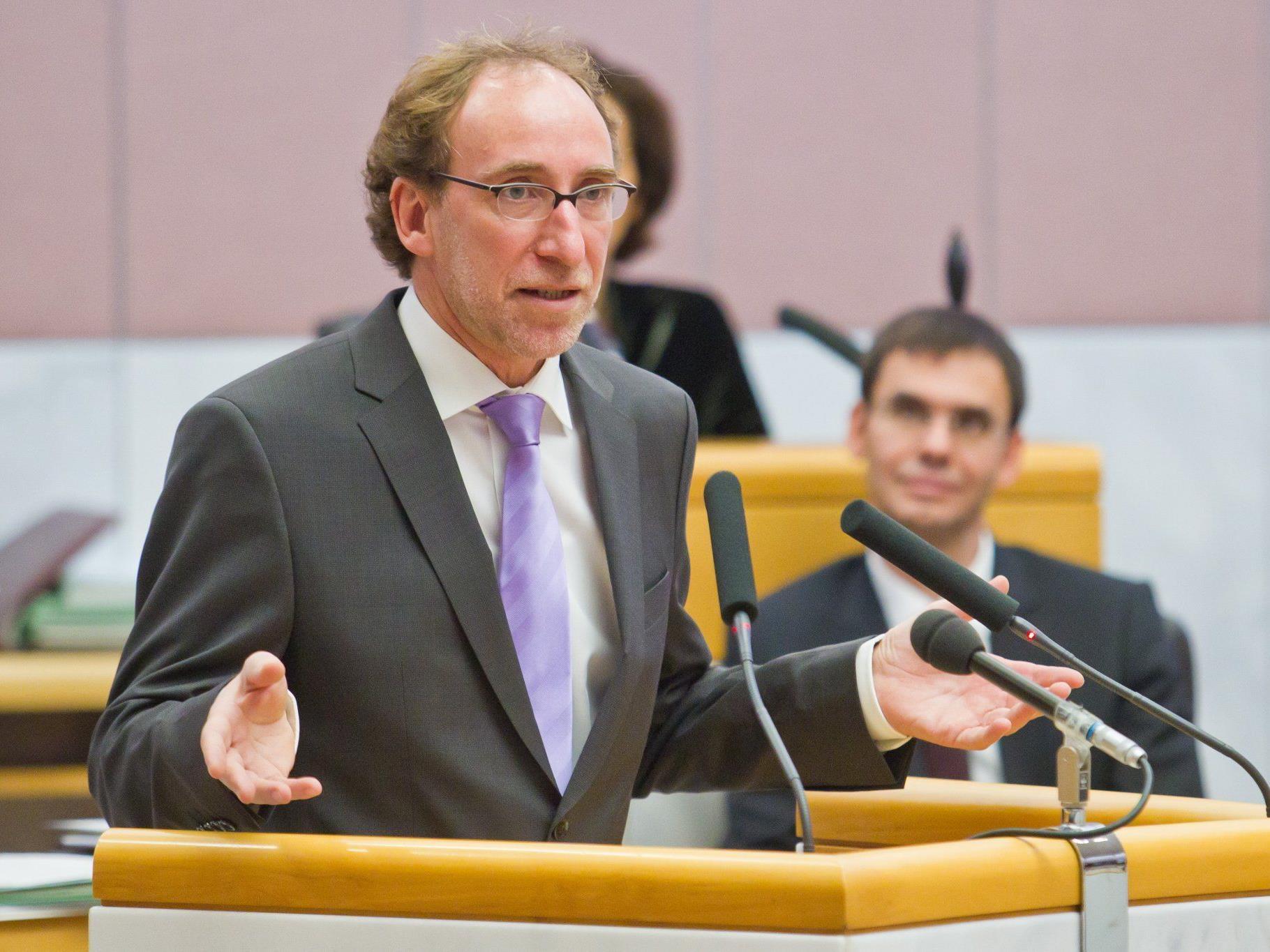 Johannes Rauch übt heftige Kritik an Dieter Egger.