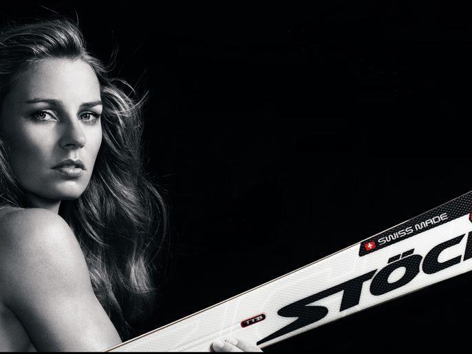 Das Beauty im Ski-Zirkus: Die Slowenin Tina Maze.
