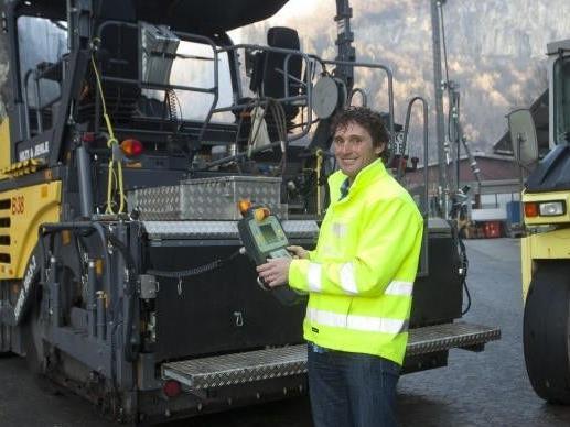 Christoph Golacz ist auf Baustellen aller Größenordnungen im ganzen Bundesland Vorarlberg tätig.