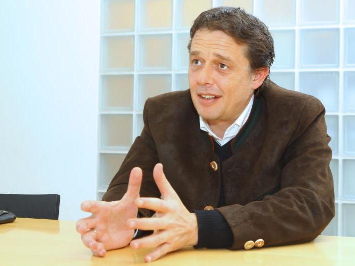 Hans-Peter Metzler, Spartenobmann Tourismus, zur Lage der Hotellerie in Vorarlberg.