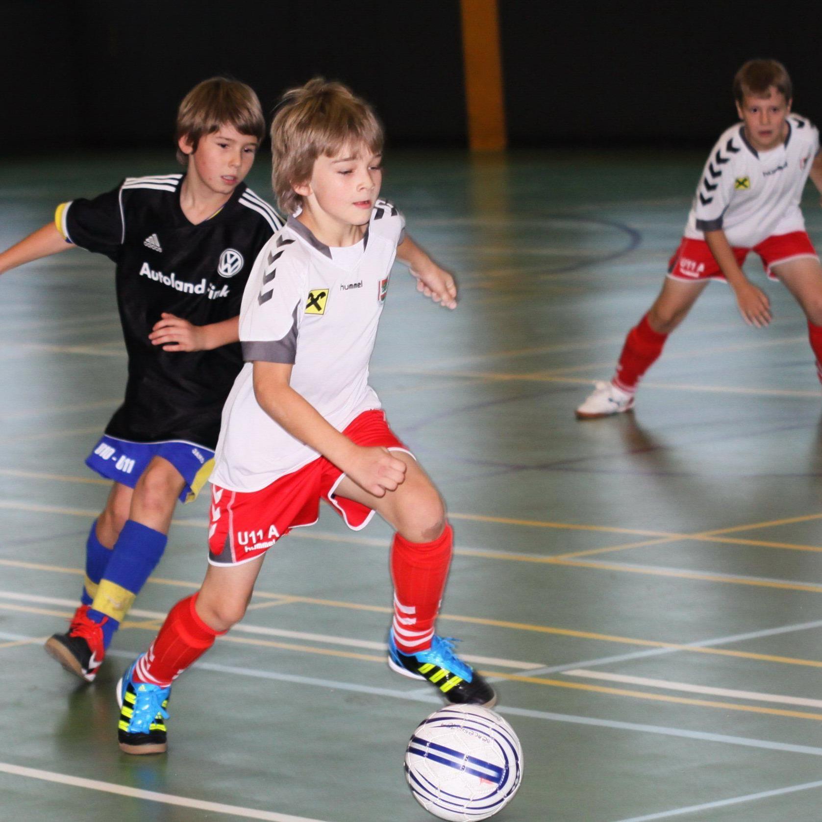 Fünf Tage lang dauert die FCD-Hallenfußballturnierserie.