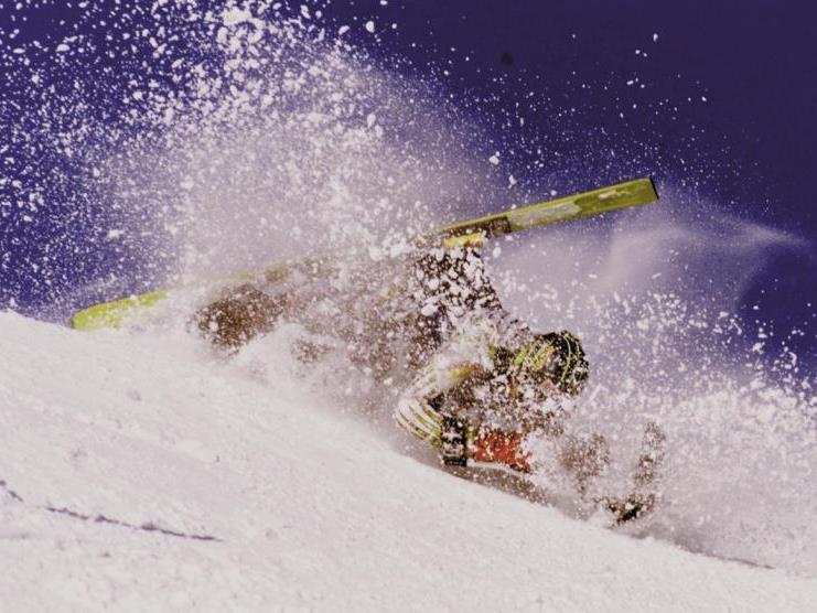 Im Skigebiet Bürserberg ist ein 50-jähriger Skifahrer am Donnerstag schwer gestürzt.