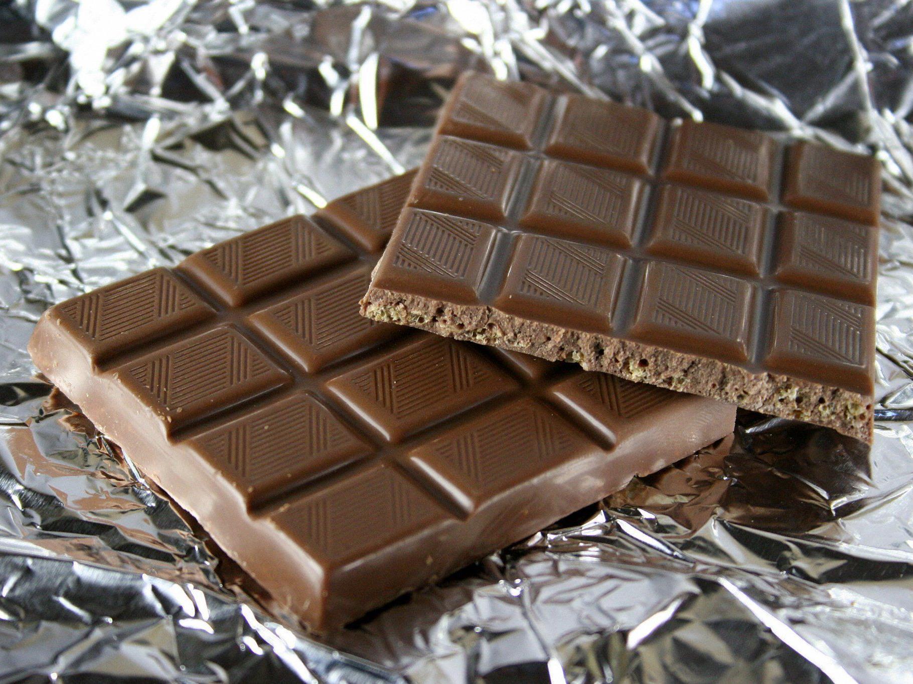Endlich! Die gesunde Schokolade ist da.
