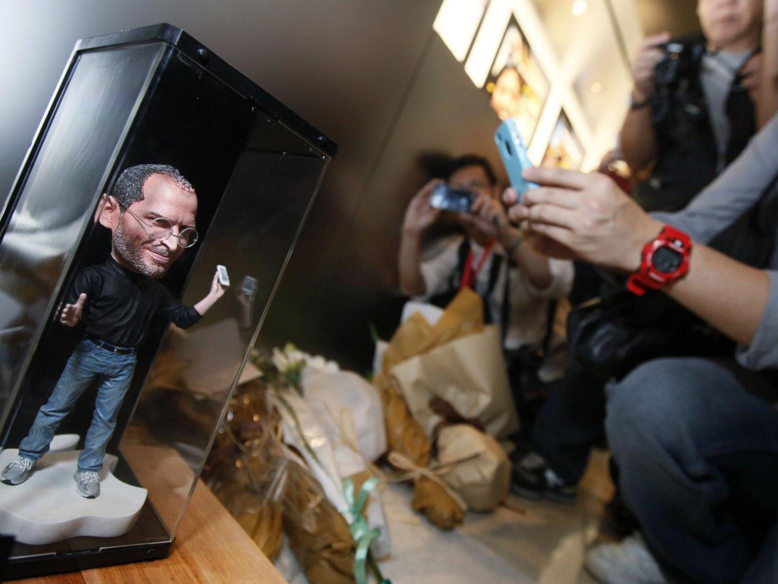 Zwielichtiger postmortaler Vermarktungsversuch von Apple-Gründer Steve Jobs.