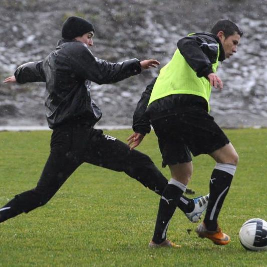 Einzer Neuer beim Trainingsauftakt der Kolvidsson-Elf war Thiago de Lima.