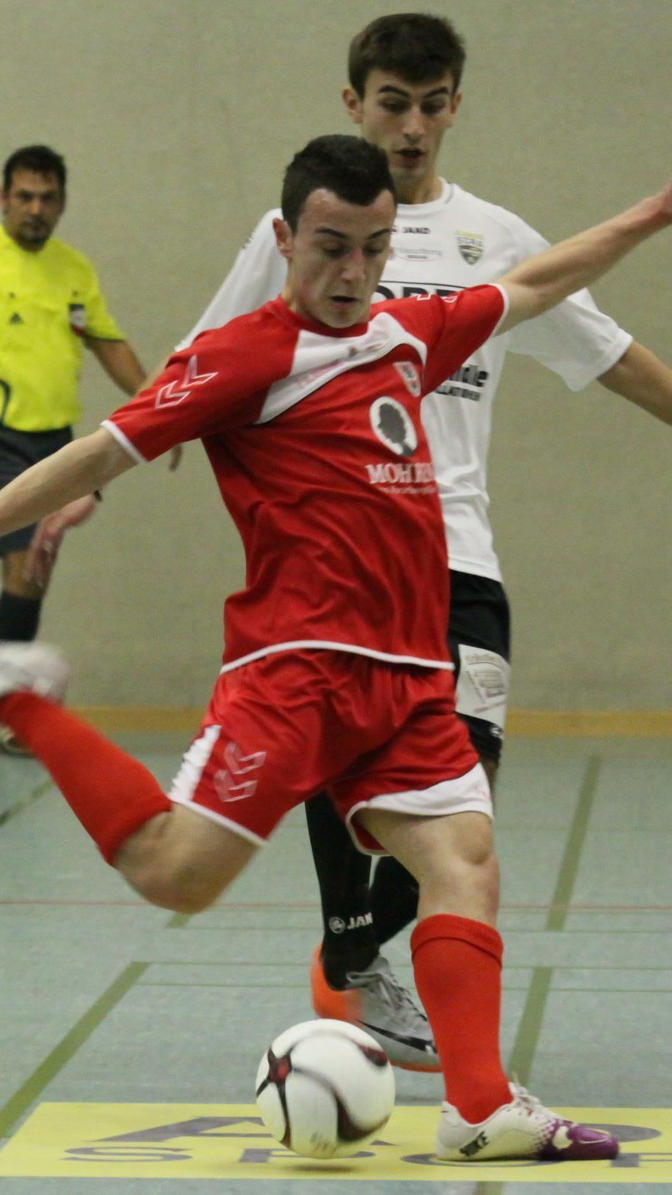 Esref Demircan schoss einige Tore für Dornbirn.