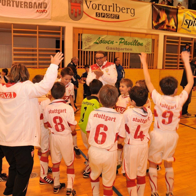 VfB Stuttgart wurde Turniersieger in Schlins.