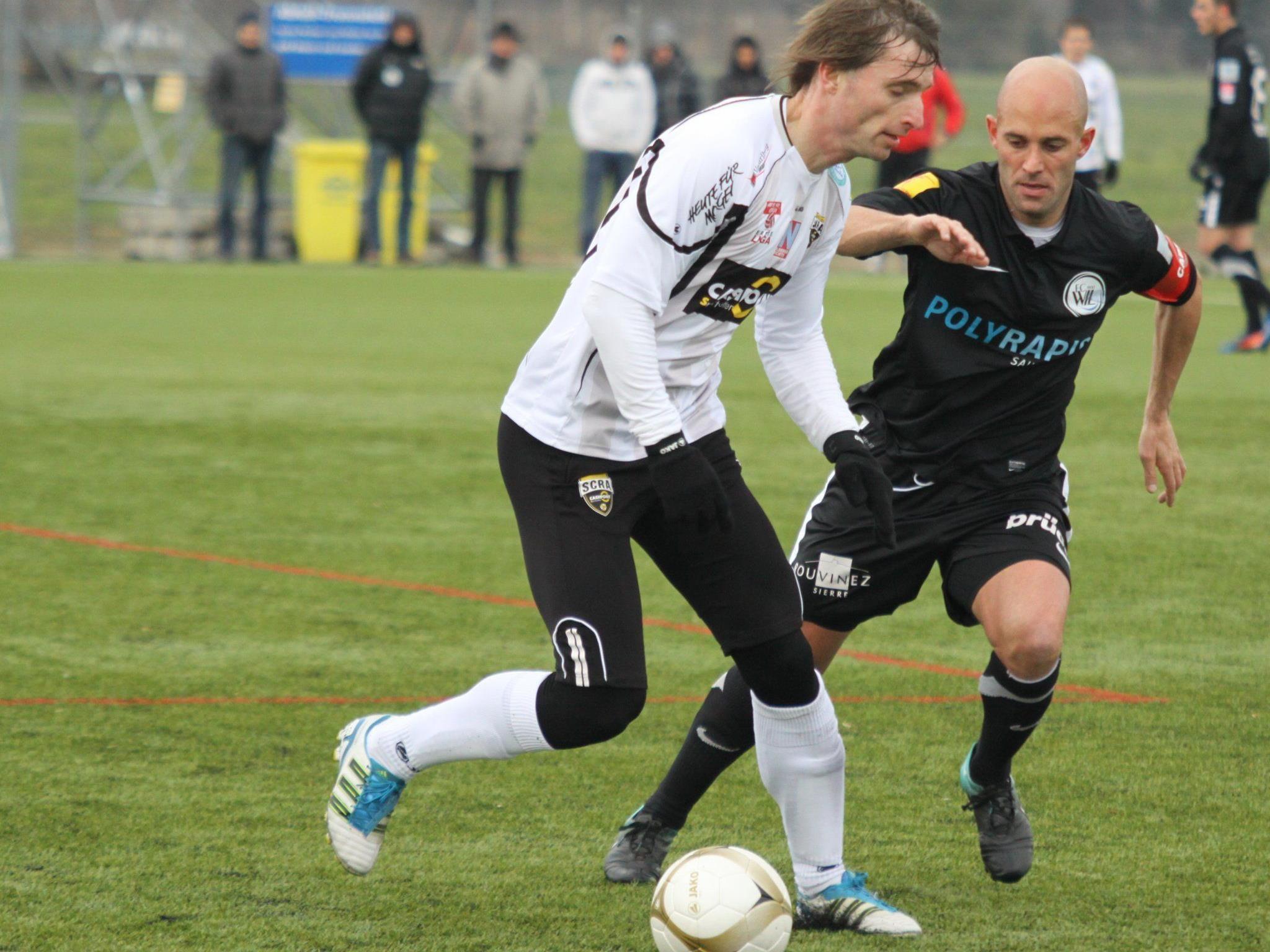 Petr Vorisek erzielte für Altach das Goldtor zum 1:0-Testsieg gegen Wil.