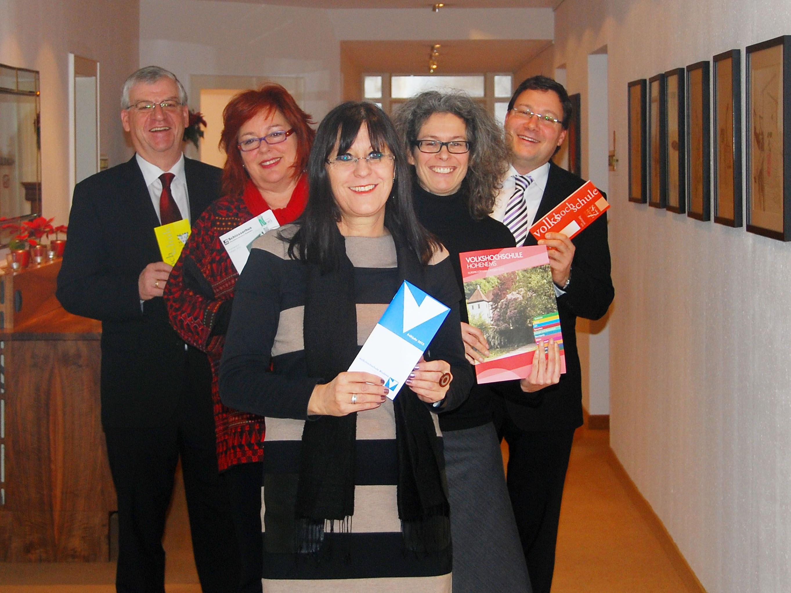 Vorarlbergs Volkshochschulen legten ihre Frühjahrsprogramme vor.