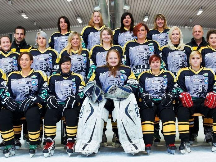 Die Wilcats sind erster Vorarlberger Damen Eishockey Meister