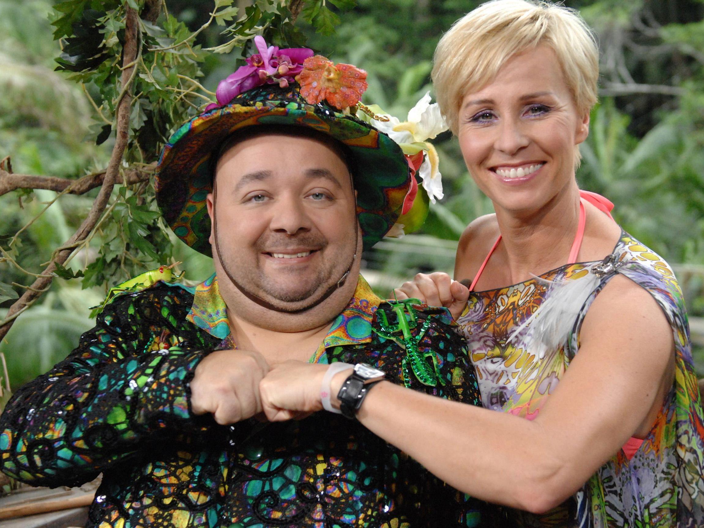 Peepshow Im Dschungelcamp Dirk Bach Und Sonja Zietlow Sind