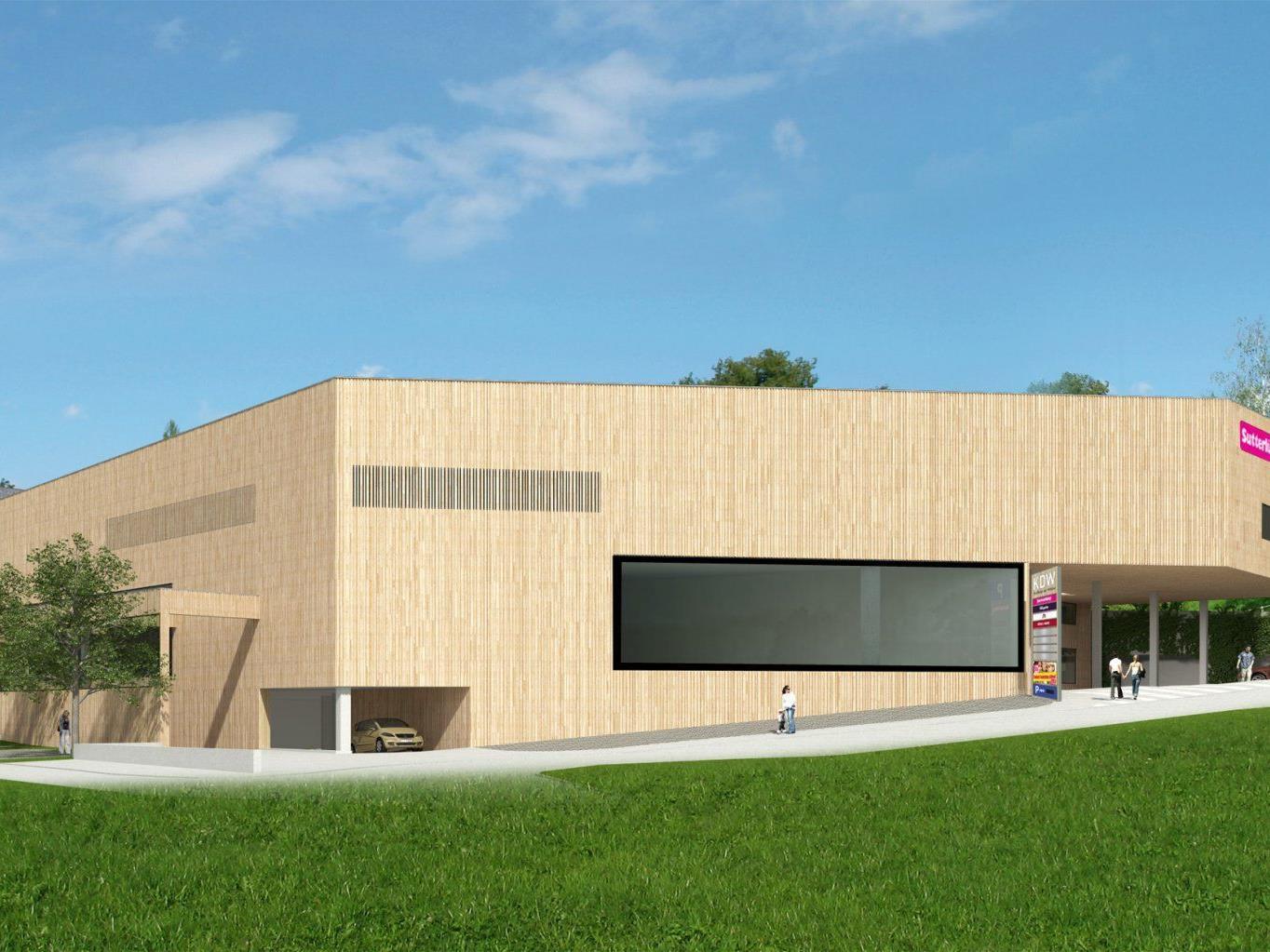 Das neue Regionalzentrum in Egg schließt mit einem traditionellen Firstfest eine wichtige Bauphase ab.